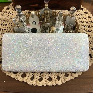 Glitter wallet/clutch bag